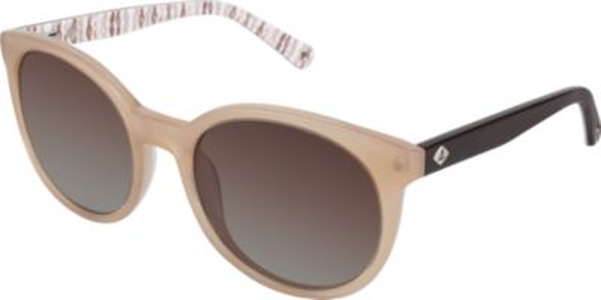 Castine Polarized Sunglasses, Brown, dynamic